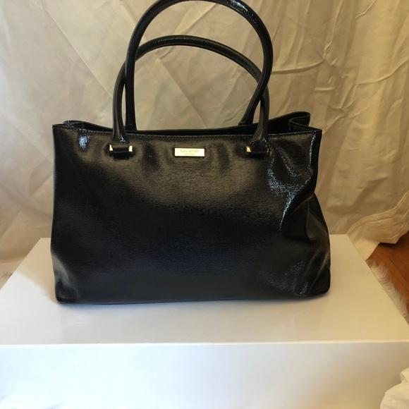 "Kate Spade Handbags - Kate Spade black ""shiny"" purse"